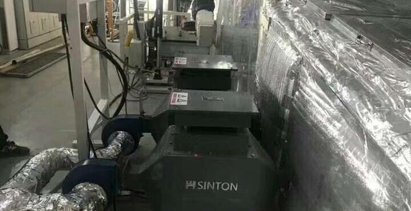 烘房專用風道加熱器現場